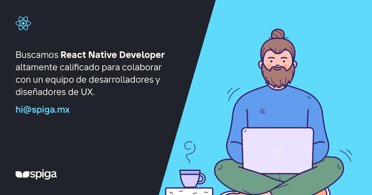 Empleo React Native Developer